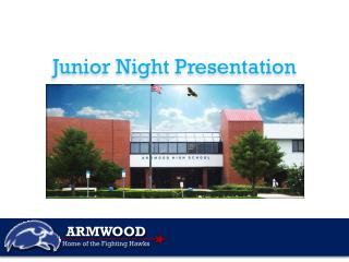 Ju nior  Night Presentation