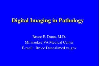 Digital Imaging in Pathology