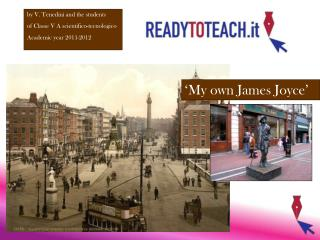 �My own James Joyce�
