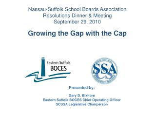 Nassau-Suffolk School Boards Association  Resolutions Dinner & Meeting  September 29, 2010