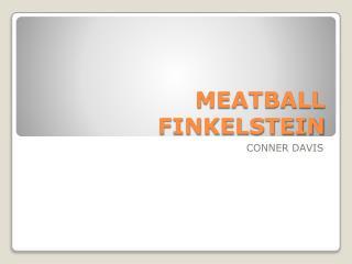 MEATBALL FINKELSTEIN