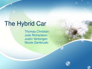 The Hybrid Car