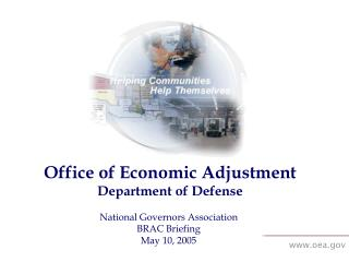 Office of Economic Adjustment Department of Defense