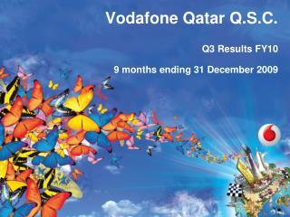 Vodafone Qatar Q.S.C.