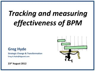 Tracking and measuring effectiveness of BPM