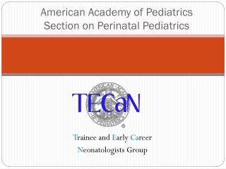 American Academy of Pediatrics Section on  Perinatal  Pediatrics