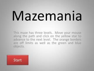 Mazemania