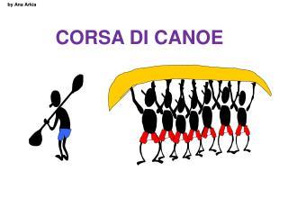 CORSA DI CANOE