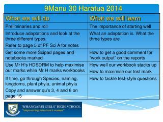 9Manu 30  Haratua  2014