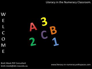 Literacy in the Numeracy Classroom.