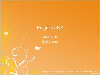 Projet J2EE