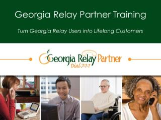 Georgia Relay Partner Training