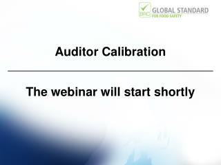 Auditor Calibration