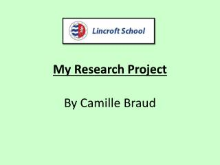 My Research  P roject