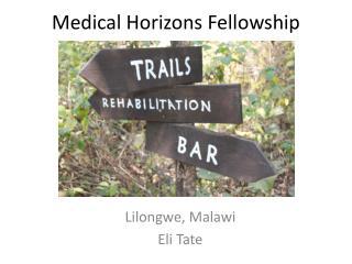 Lilongwe, Malawi Eli Tate