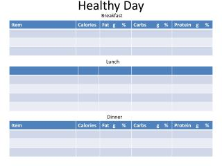 Healthy Day