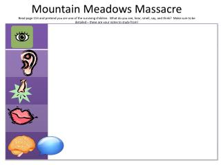 mountain meadows massacre 2012