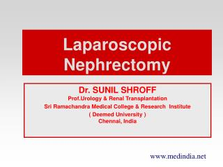 Laparoscopic Nephrectomy