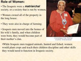Role of Women: