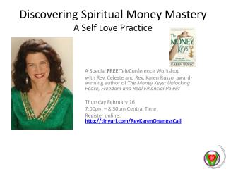 Discovering Spiritual Money Mastery A Self Love Practice