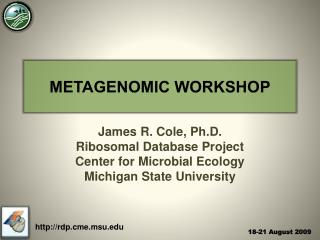 METAGENOMIC WORKSHOP
