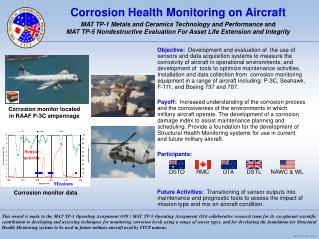 Corrosion Health Monitoring on Aircraft