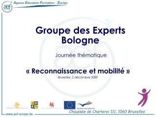 Groupe des Experts Bologne