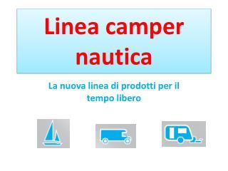 Linea camper nautica