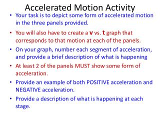 Accelerated Motion Activity