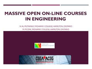 MASSIVE OPEN ON-LINE COURSES  IN ENGINEERING