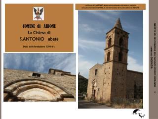 redatto dal responsabile dell'archivio storico comunale      1 umberto DIGRAZIA