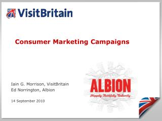 Consumer Marketing Campaigns