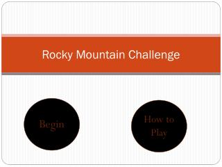 Rocky Mountain Challenge