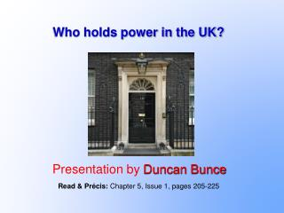 Who holds power in the UK?