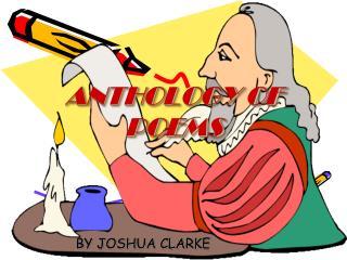 ANTHOLOGY OF POEMS