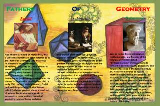 Fathers     Of  Geometry