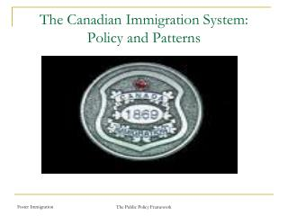 The Canadian Immigration System: Policy and Patterns