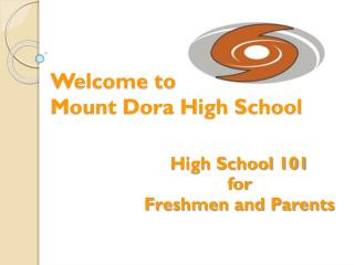 Welcome to  Mount Dora High School
