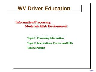 WV Driver Education