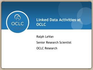 Linked Data Activities at OCLC
