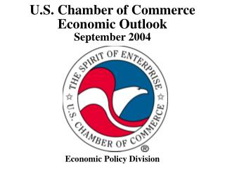 U.S. Chamber of Commerce  Economic Outlook September 2004