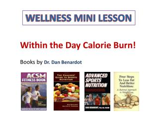 WELLNESS MINI LESSON