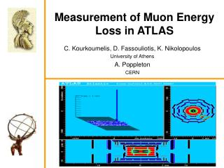 Measurement of Muon Energy Loss in ATLAS