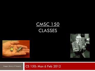 CMSC 150 classes