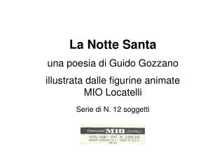 Serie la Notte Santa – N. 12 soggetti