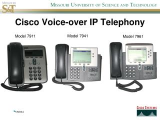 Cisco Voice-over IP Telephony