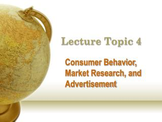 Lecture Topic 4