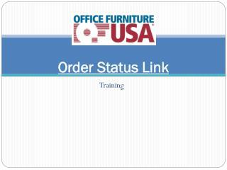 Order Status Link