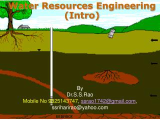 Water Resources Engineering (Intro)