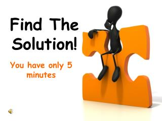 Find The Solution!